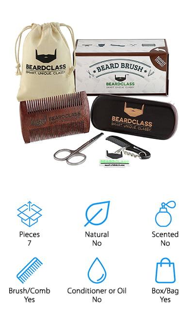 BEARDMAN Beard Kit