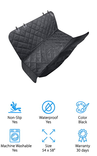 TaoTronics Pet Seat Cover