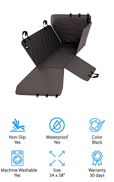 Comfort: Meister Pet Seat Cover