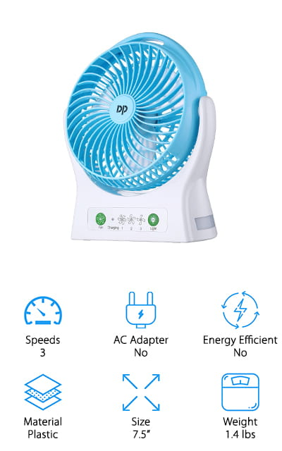 Miady Portable Fan