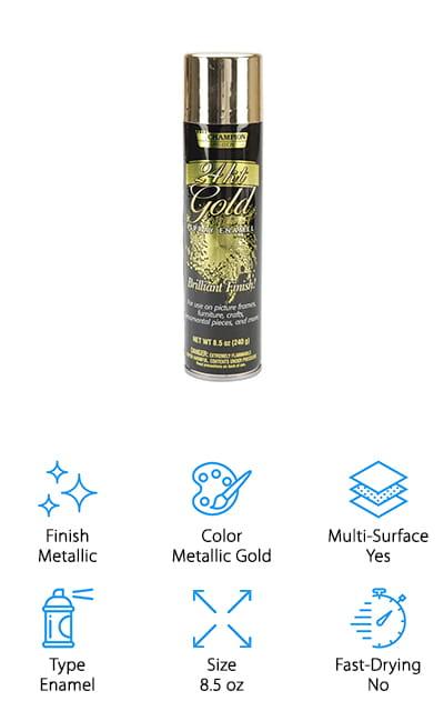 Chase Metallic Spray Paint