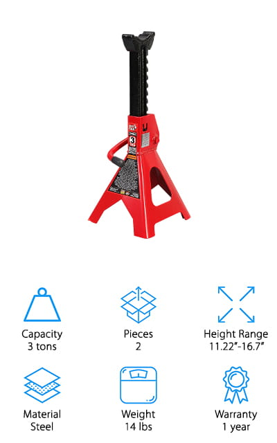 Torin Big Red Jack Stand