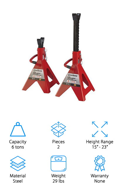 Strongway Jack Stands
