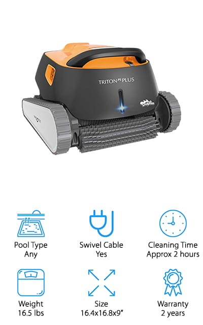 Dolphin Triton Plus 1 Cleaner