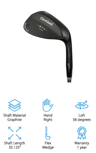 Cleveland Golf Satin Wedge
