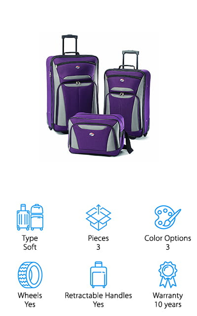 American Tourister Fieldbrook II Set