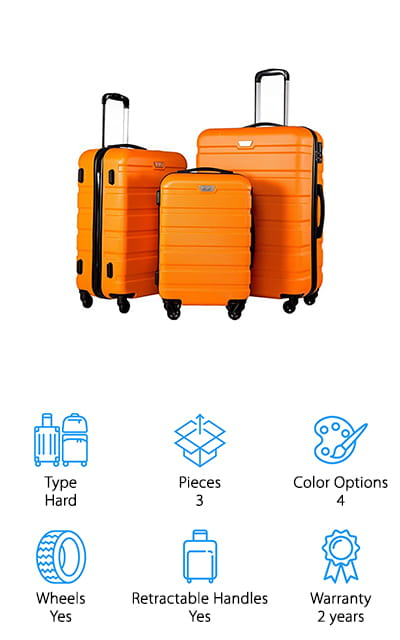 Coolife Luggage Set