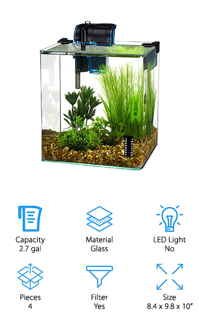 Penn Plax Vertex Aquarium Kit