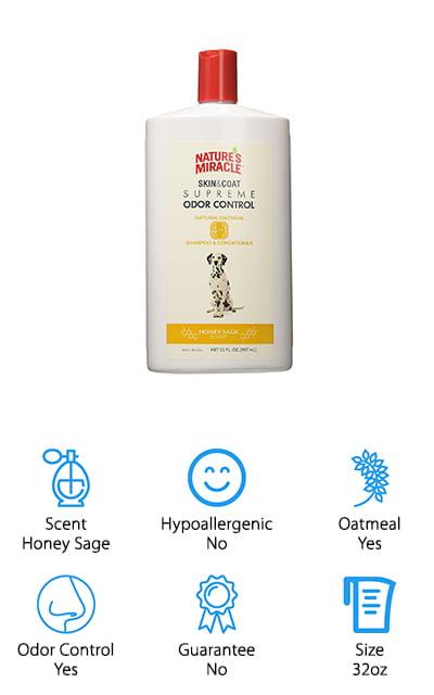 Nature's Miracle Oatmeal Shampoo