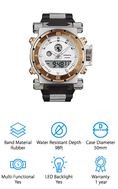 Infantry Tactical Sport Watch
