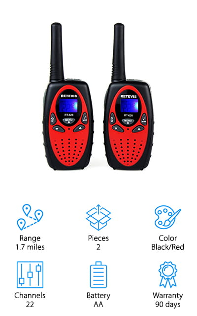 Retevis Kids Walkie-Talkies