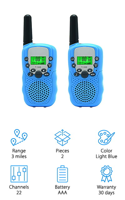 Aphse Kids Walkie-Talkies