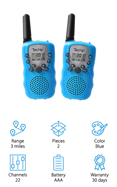 Techip Kids Walkie-Talkies