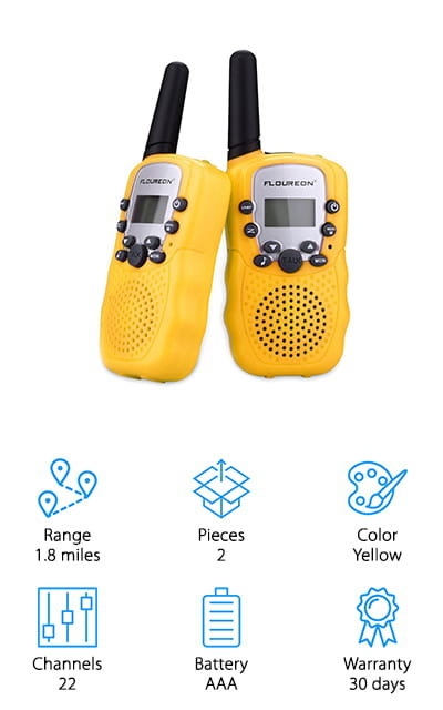 Floureon Walkie Talkie