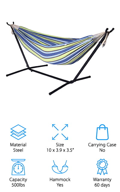 Ivation Hammock with Stand
