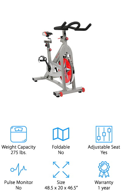 Sunny Health & Fitness Pro Bike