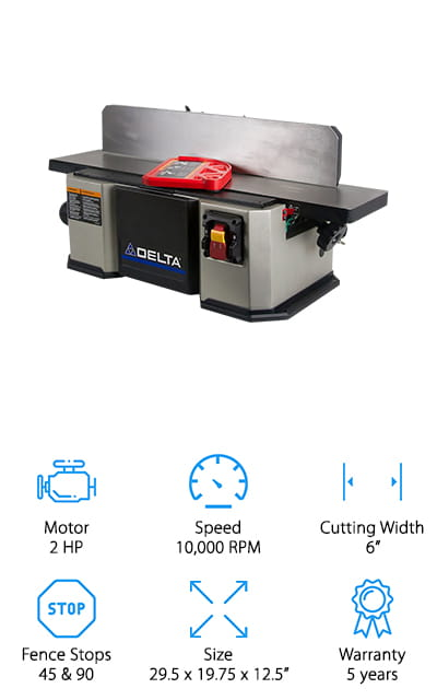 Delta Power Bench Jointer