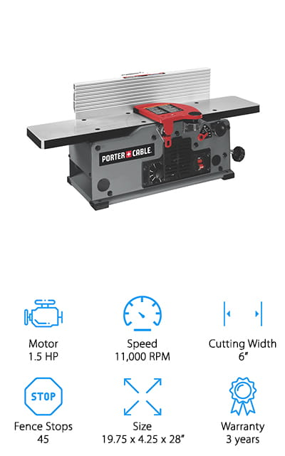 Porter-Cable PC160JT Jointer