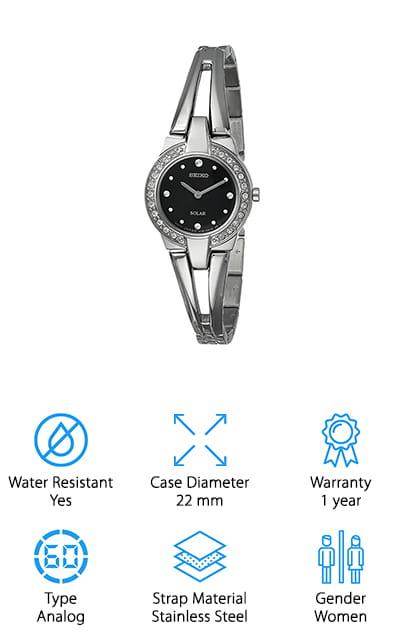 Seiko Classic Solar Watch