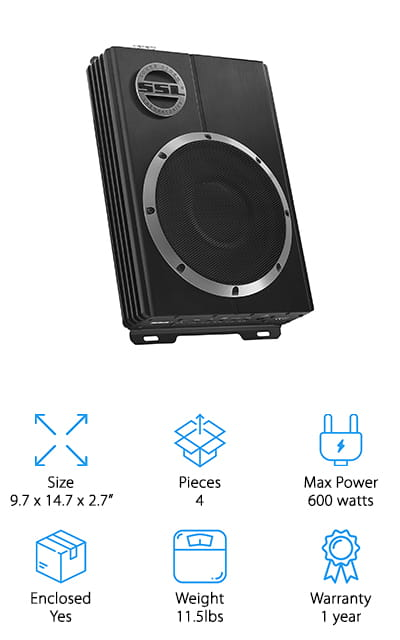 Sound Storm Car Subwoofer