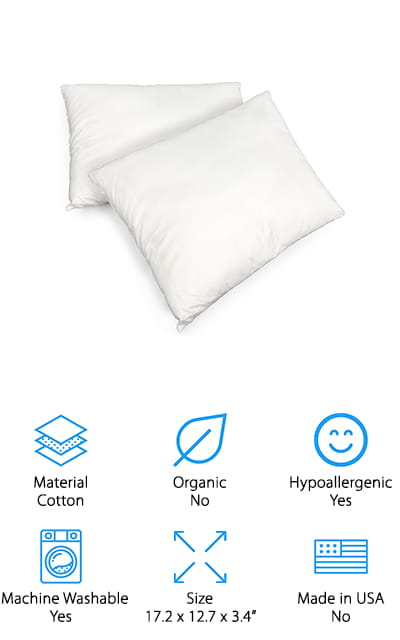 Equinox Toddler Pillow Set