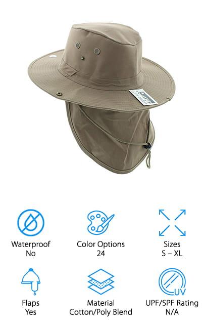 JFH Safari Sun Hat