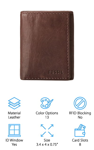 Fossil Trifold Wallet
