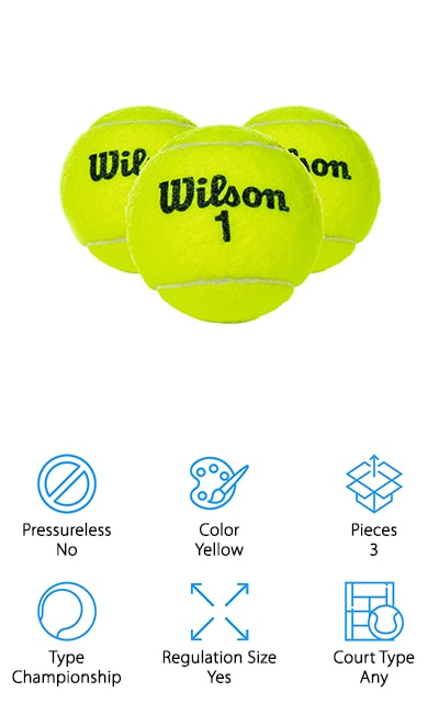 Wilson Extra Duty Tennis Ball