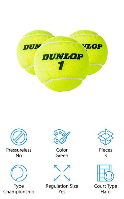 Dunlop Sports Tennis Balls
