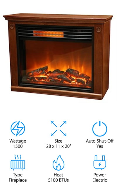 Lifesmart Large Room Fireplace