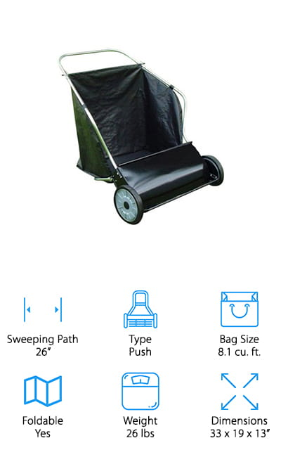 Mid West Products Lawn Sweeper