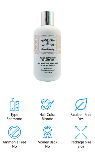 Winsome & Wisdom Blonde Moment Toner