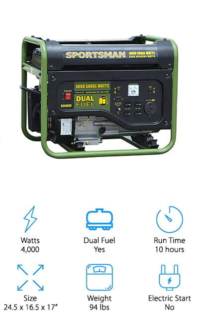 Sportsman GEN4000DF Generator