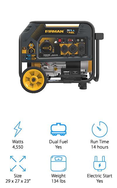 Firman Hybrid Series Generator