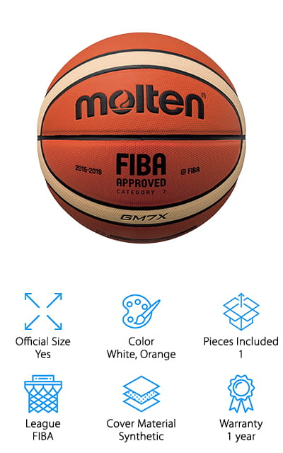 Molten X-Series Basketball