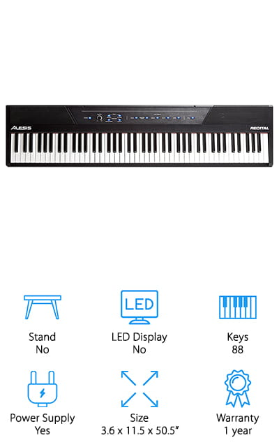 Alesis Beginner Digital Piano
