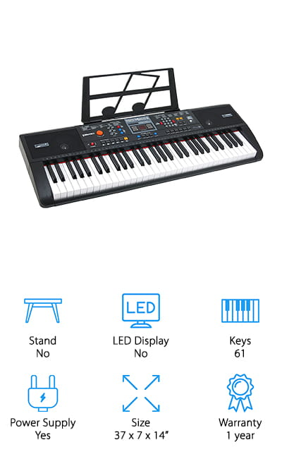 Plixio Electric Keyboard