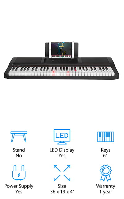 The ONE Smart Piano Keyboard