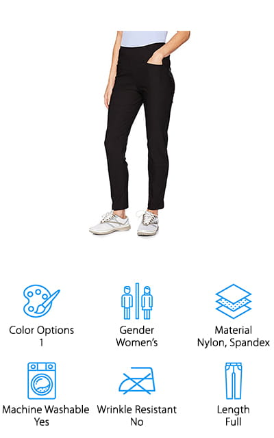 PGA TOUR Women's Pull on Pants