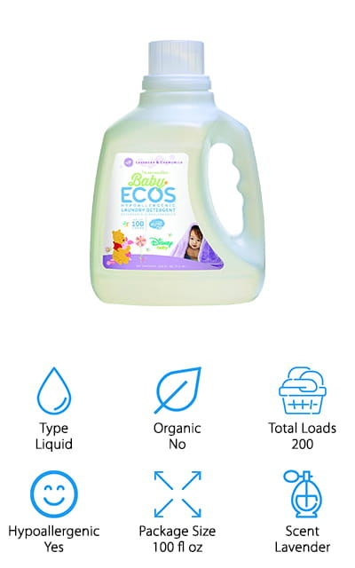 Earth Friendly Baby Ecos Detergent