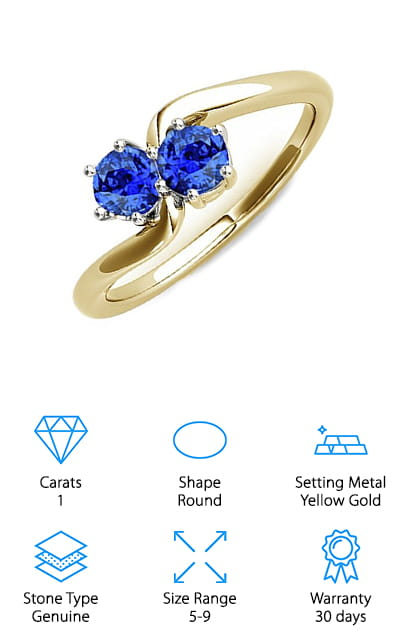Mauli Jewels Tanzanite Ring