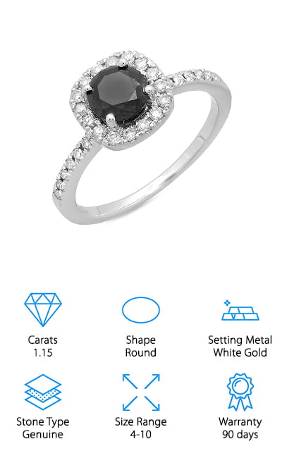 Best Black Diamond Engagement Rings