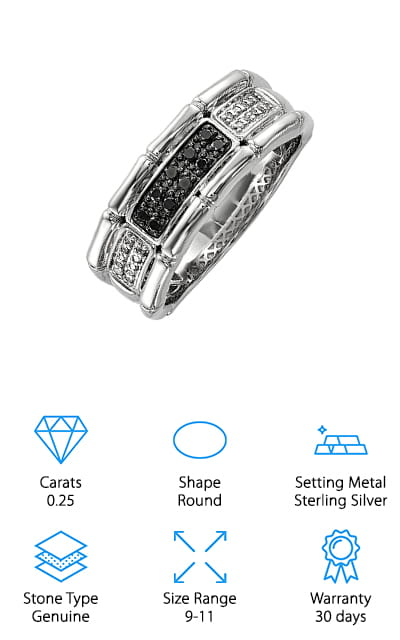 Diamond Mine Black Diamond Ring