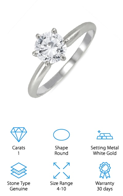 Szul Diamond Solitaire Ring