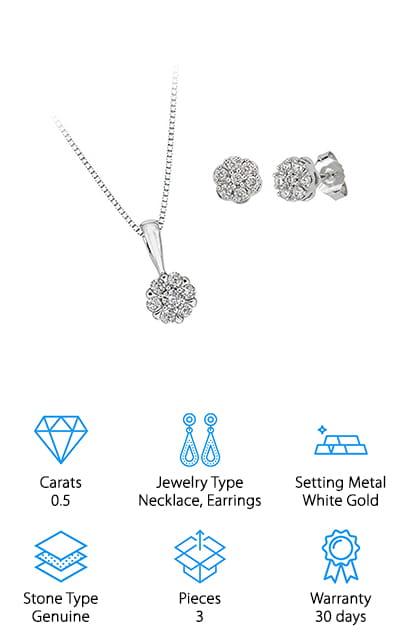 Katarina Diamond Jewelry Set