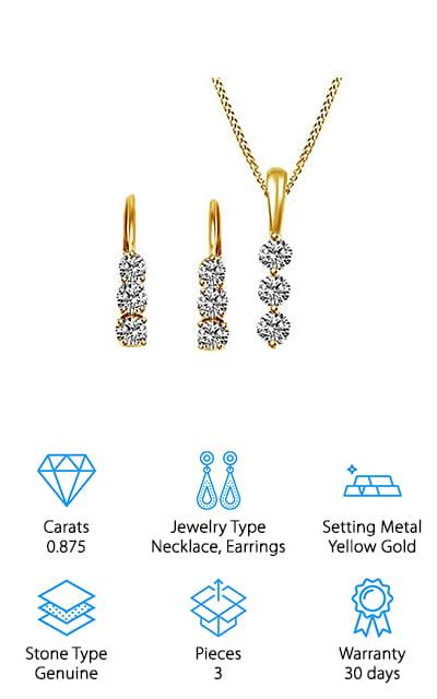 Jewel Zone Diamond Set