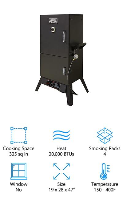 Smoke Hollow 38202G Gas Smoker
