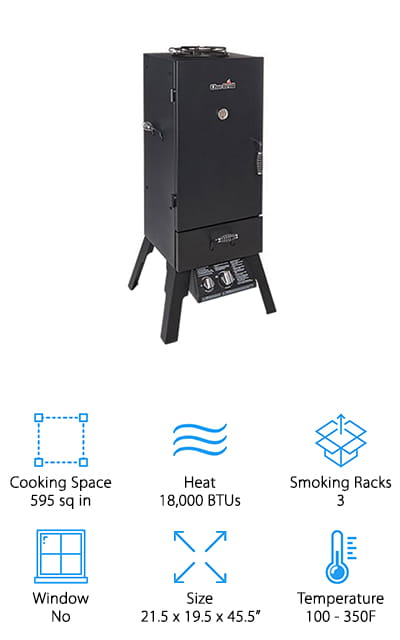 Char-Broil Gas Smoker