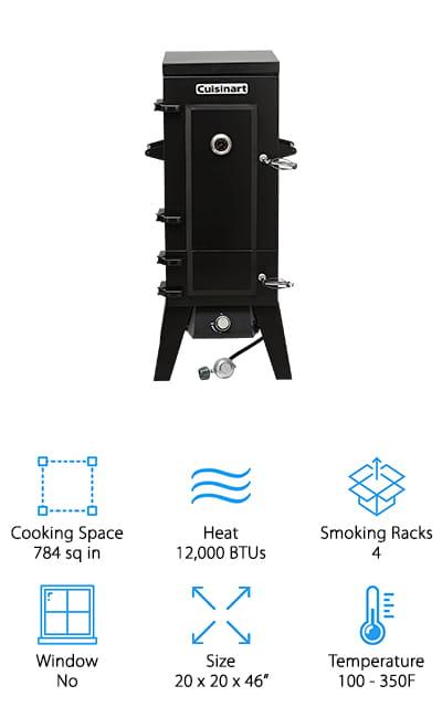 Cuisinart COS-244 Propane Smoker