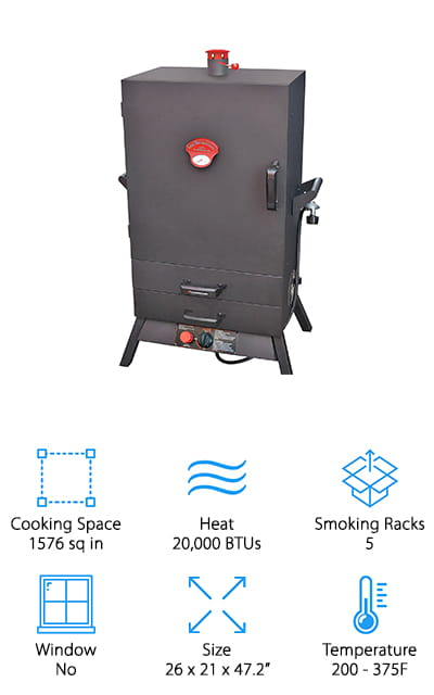 10 Best Gas Smokers 2019 Buying Guide Geekwrapped